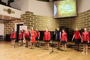 里加34中学表演合唱