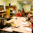 "Latvian's Montessori Elementary School Held a ""Dumplings Making, Celebrating the Spring Festival"" Activity"